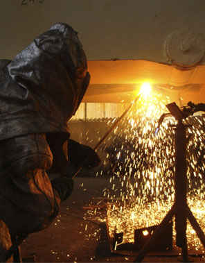 Delaware Valley Steel member welding ABS grade steel plates